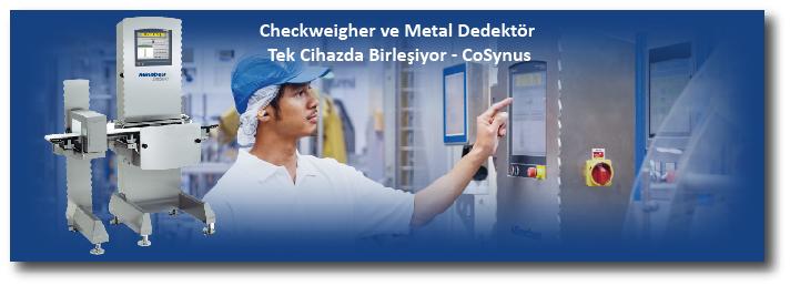 Checkweigher ve Metal Dedektör Tek Cihazda